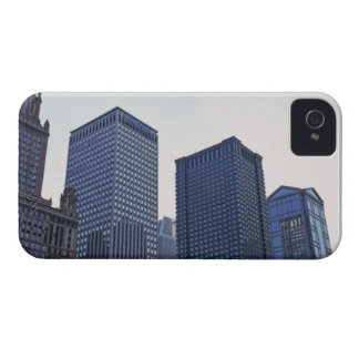 Office buildings in downtown Chicago, Illinois iPhone 4 Cover