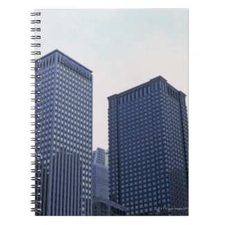 Office buildings in downtown Chicago, Illinois Spiral Notebook