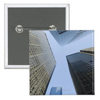 Office Buildings in Lower Manhattan 15 Cm Square Badge