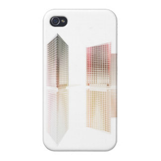 Office buildings iPhone 4 cases