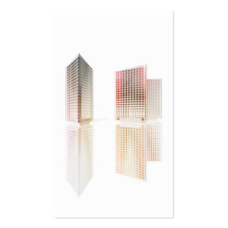 Office buildings pack of standard business cards