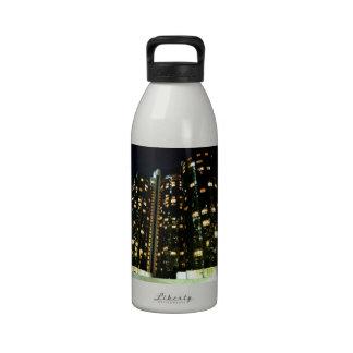 Office Buildings Water Bottle