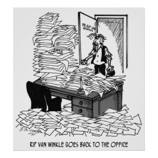 Office Cartoon 2146 Poster