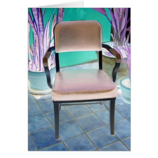 OFFICE CHAIR II GREETING CARD