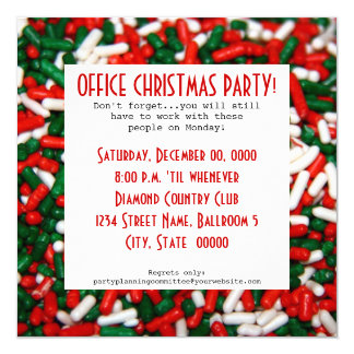 Office Christmas Party Invitations & Announcements | Zazzle.co.uk