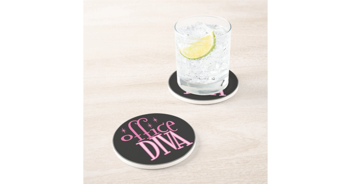 Office Diva Coaster Zazzle