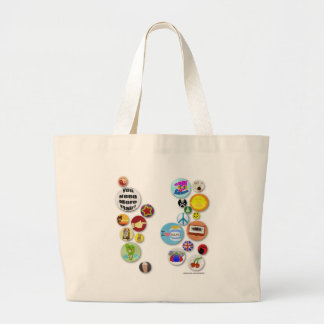 Office Flair Tote Canvas Bags