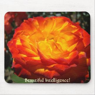 OFFICE gifts Beautiful Intelligence Rose mousepad