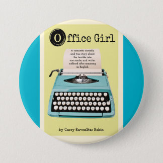 Office Girl Button