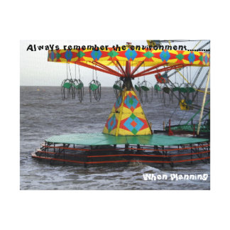 Office humour Environment Gallery Wrap Canvas