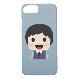 Office Man with neck tie iPhone 8/7 Case