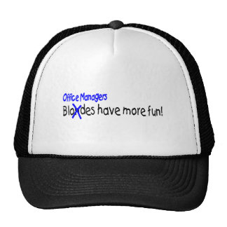 Office Managers Have More Fun Cap