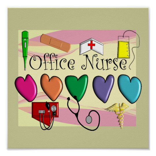 Office Nurse Poster Art