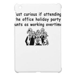 Office Party working overtime iPad Mini Cover