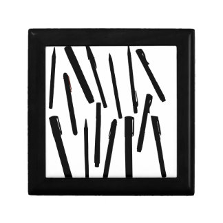 Office Pens Silhouette Gift Box