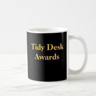 Office Practical Joke Tidy Desk Funny Spoof Awards Basic White Mug