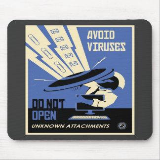 Office Propaganda: Downloads (blue) Mousepad