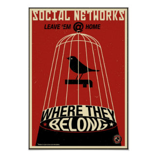 Office Propaganda: Social Network Poster