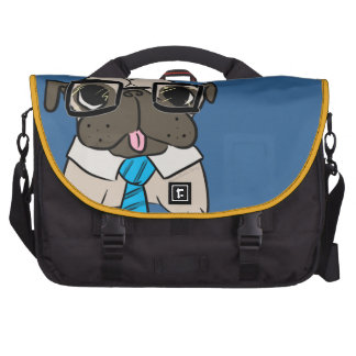 Office Pug Laptop Bags