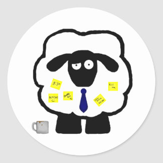 Office Sheep Stickers