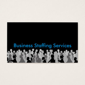 Office Staffing Business Cards