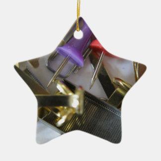 Office Stationary Ceramic Star Decoration