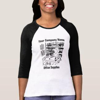 Office Supplies Cartoon T-Shirt