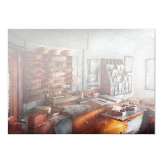 Office - The Purser's room 13 Cm X 18 Cm Invitation Card