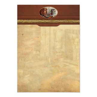Office - The Purser's room 5x7 Paper Invitation Card