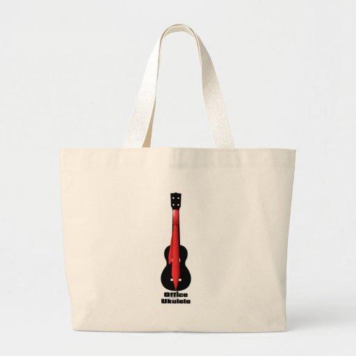 Office Ukulele Tote Bag