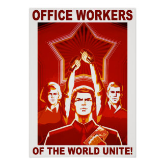 Office Workers Poster