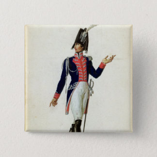 Officer of the Garde du Corps 15 Cm Square Badge