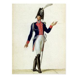 Officer of the Garde du Corps Postcard