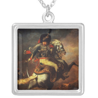 Officer of the Hussars, 1814 Silver Plated Necklace