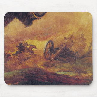 Officer of the Hussars, detail of cannon on Mouse Mat