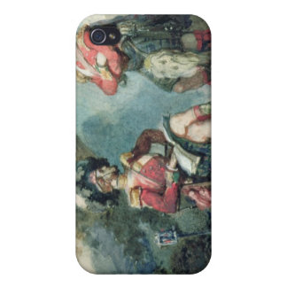 Officers of the 79th Highlanders iPhone 4 Case