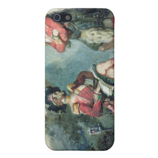Officers of the 79th Highlanders iPhone 5/5S Cover
