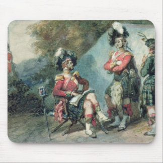 Officers of the 79th Highlanders Mouse Mat