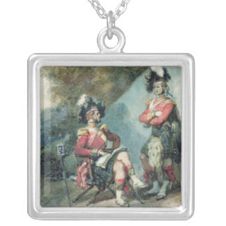 Officers of the 79th Highlanders Silver Plated Necklace