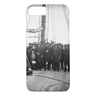 Officers of the Kearsarge_War Image iPhone 7 Case