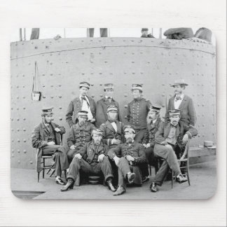 Officers on USS Monitor 1862 Mouse Pads