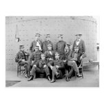 Officers on USS Monitor, 1862 Post Card