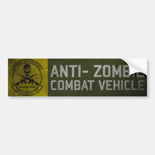 Official 147th Zombie TF Bumper Sticker