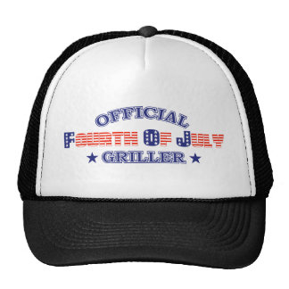Official 4th Of July Griller Hats