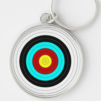 OFFICIAL ARCHERY TARGET ~ KEY RING