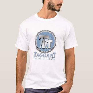 Official ATLAS SHRUGGED Movie T - Taggart Transcon T-Shirt