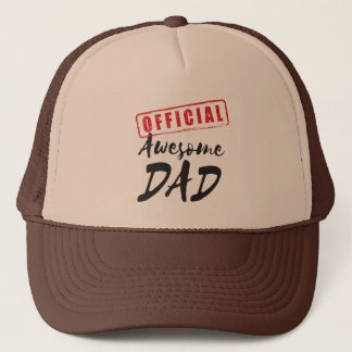 Official Awesome Dad Cap - Funny Father's Day