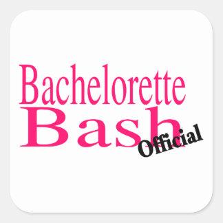 Official Bachelorette Bash Square Sticker
