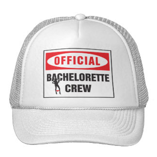 Official bachelorette crew mesh hats