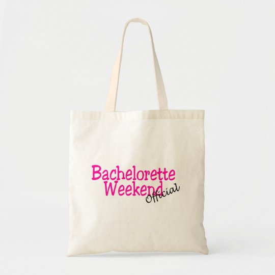 Official Bachelorette Weekend Tote Bag